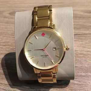 Kate Spade watch in gold